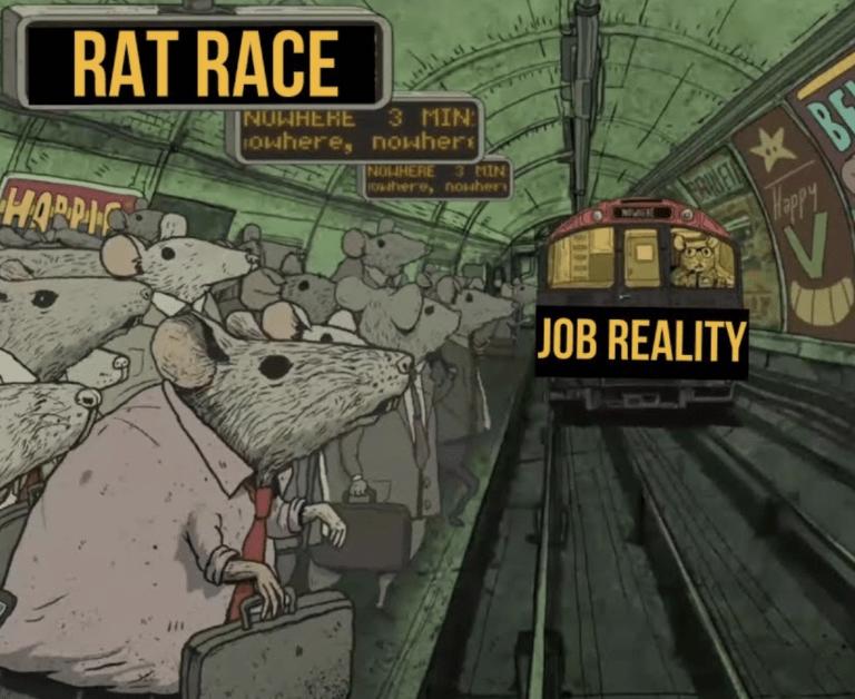 quitter la rat race